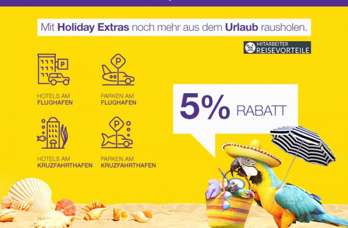 Holiday Extras – park & fly